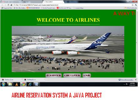 scope of airline reservation system
