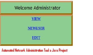 Automated-Network-Administration-Tool-a-Java-Project