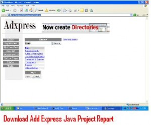 Download-Add-Express-Java-Project-Report