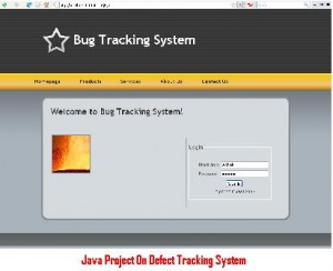 Java-Project-On-Defect-Tracking-System