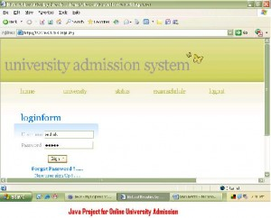 Java-Project-for-Online-University-Admission