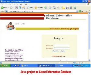 Java-project-on-Alumni-Information-Database