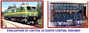 EVALUATION OF CAPITAL At SOUTH CENTRAL RAILWAY