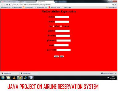airline reservation systems
