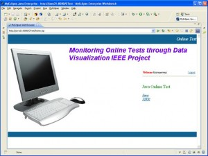 Monitoring Online Tests through Data Visualization IEEE Project