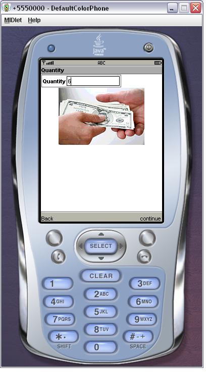 Quantity User Interface Design