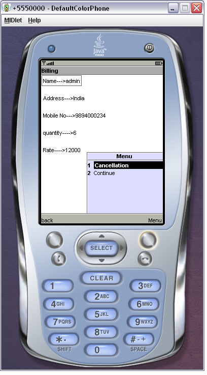 Cancel order User Interface Design