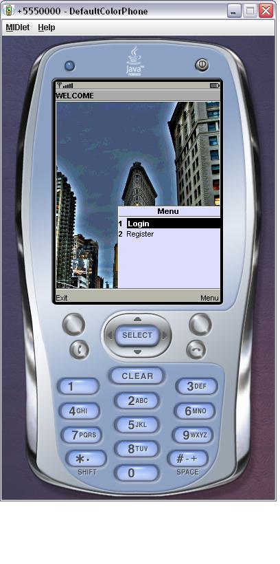 Mobishop User Interface Design