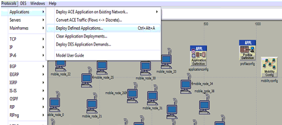 Process to deploy the application
