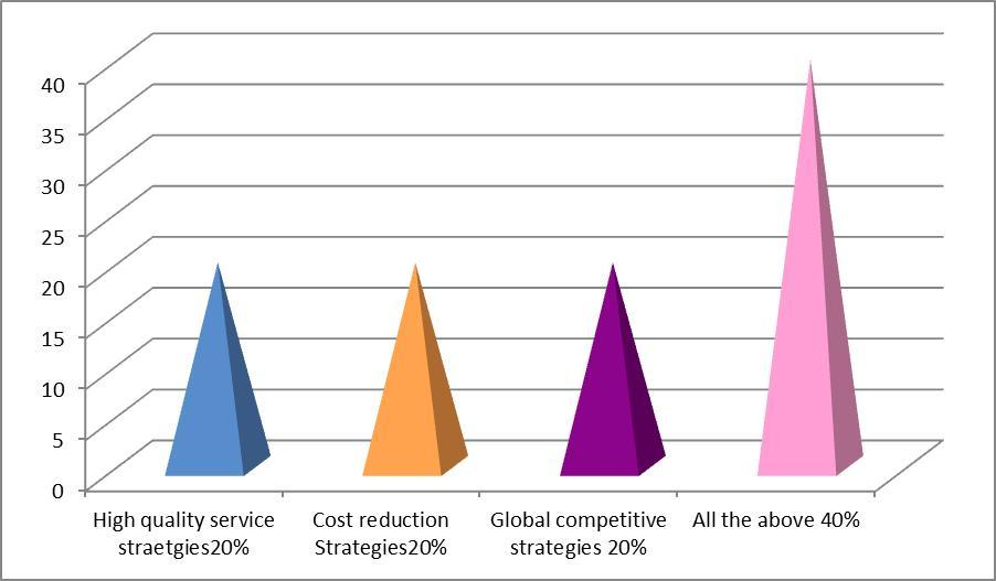 What type of global outsourcing strategies