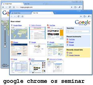 google chrome os mca seminar report