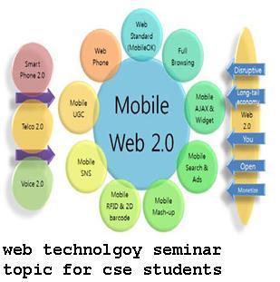 web technolgoy seminar