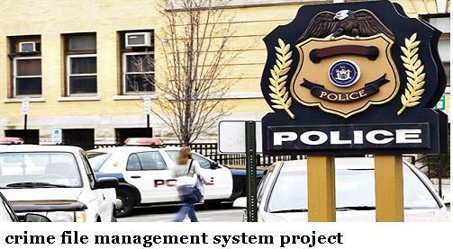crime information management system