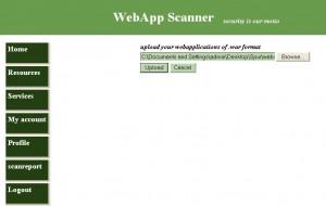 Web App Scanner