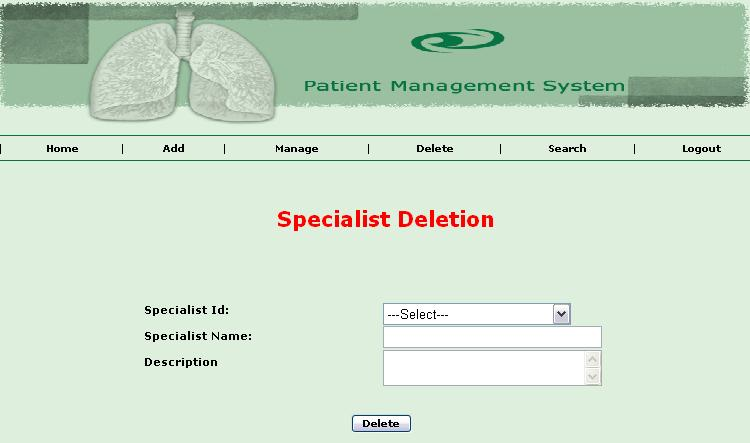 Patient Record Management System