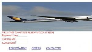 Distributed Airline Reservation Management System Project in Java