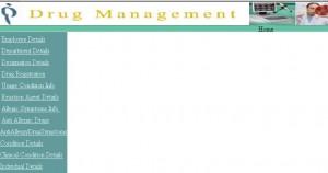 Drug Management System Project