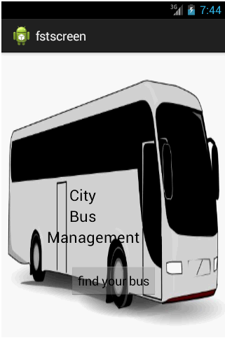 City Bus Management Home Page