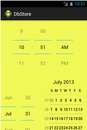 Crazy Alarm App Set Alarm Feature