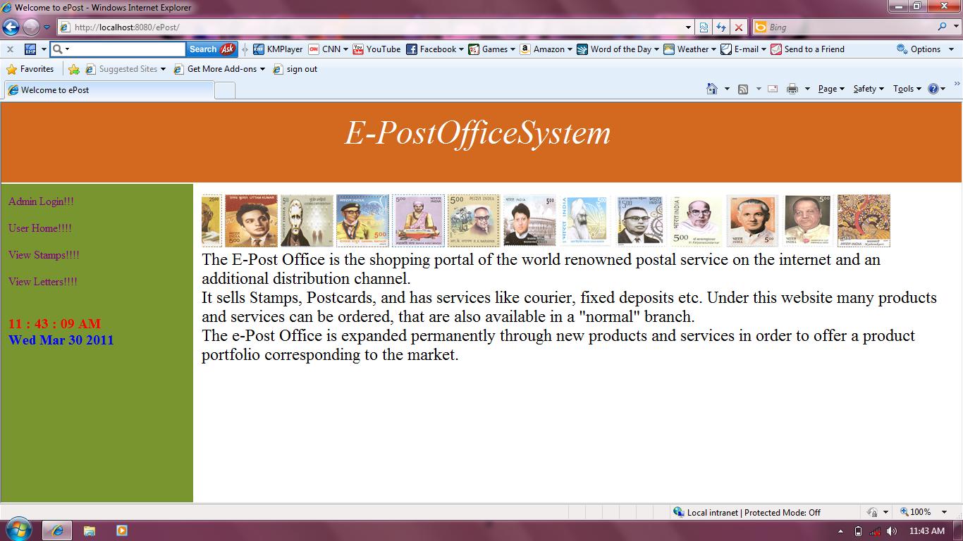 EPOST OFFICE SYSTEM DOCUMENTATION DOWNLOAD
