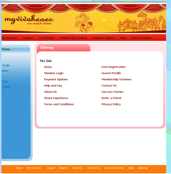 Matrimonial project in php free download