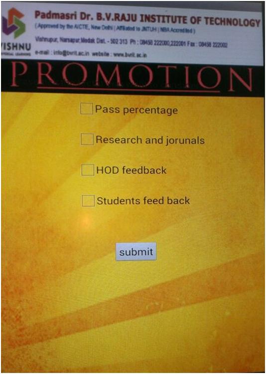 Promotion  factors