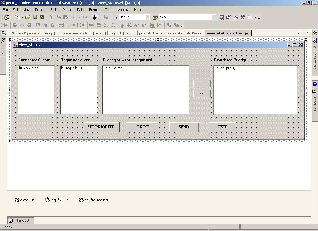 Network Print Spooler Design