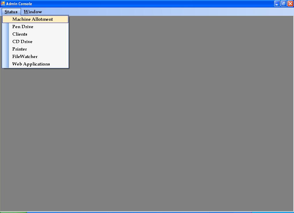 Remote Device Explorer System Client