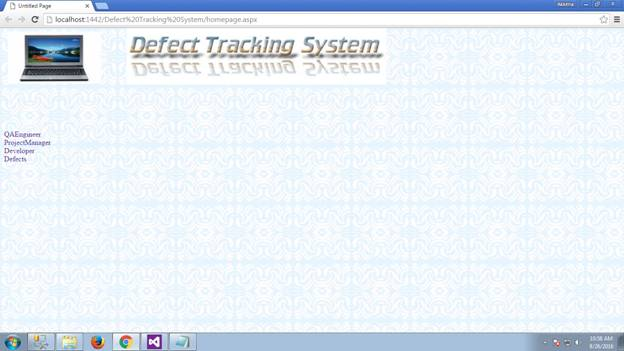 Defect Tracking System 01