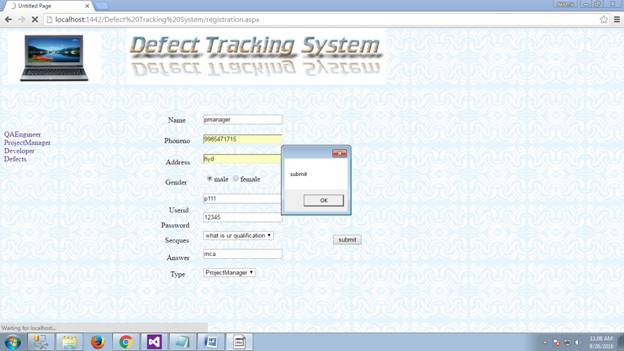 Defect Tracking System 08