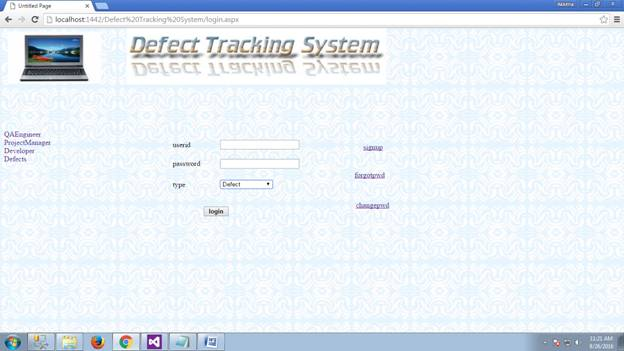 Defect Tracking System 25
