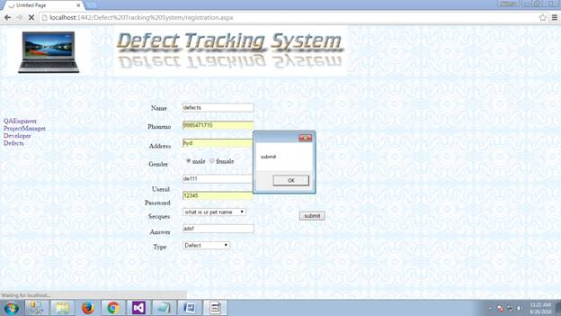 Defect Tracking System 26