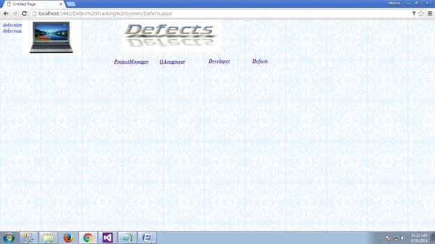 Defect Tracking System 27