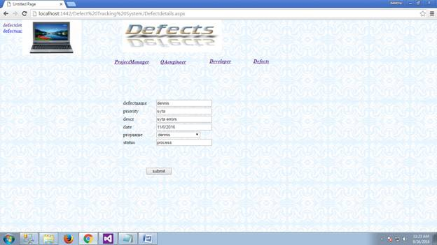 Defect Tracking System 28