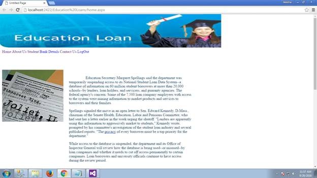 Education Loan Management System 01